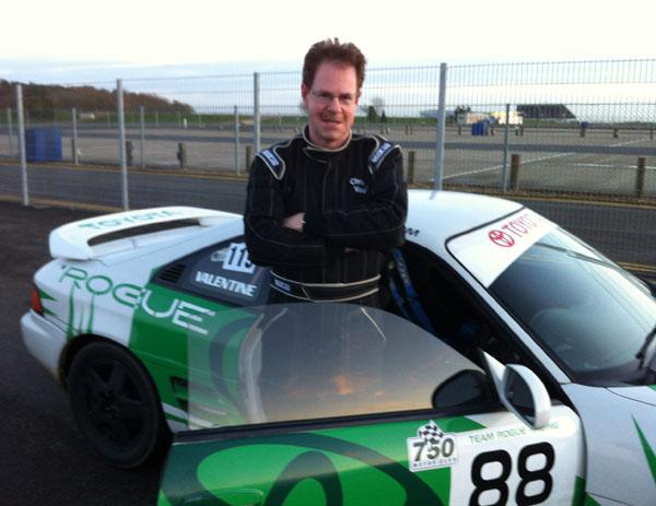 Tuition with Malcom Edeson, Silverstone GP circuit, 23 Nov 2012