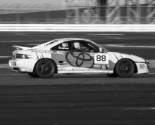 Tuition in a Rogue MR2 at Silverstone with Malcolm Edeson.