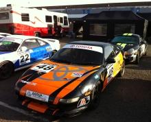 MR2 and Boxster at Donington