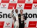 Snetterton podium
