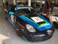 The TF Boxster shortly before scrutineering