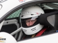 Chris in the Cayman GT4