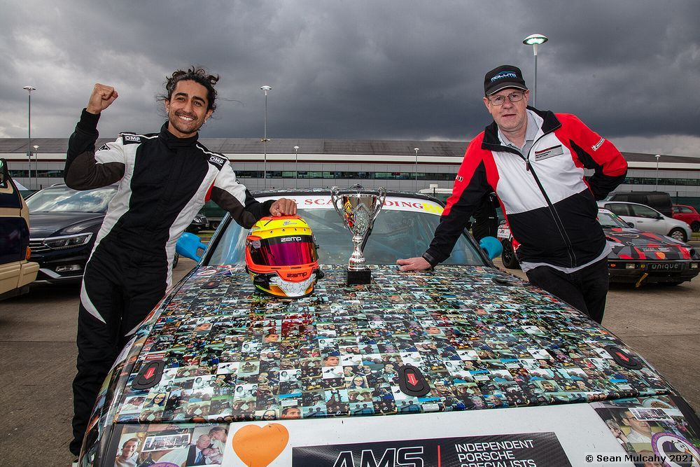 CALM All Porsche Trophy, Silverstone, August the 8th, 2021